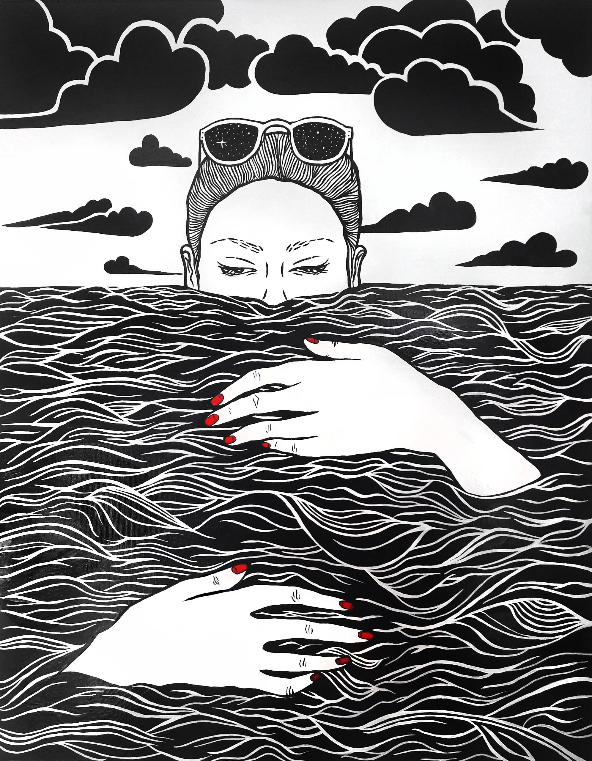 Moře je peřinou tomu, komu je vedro