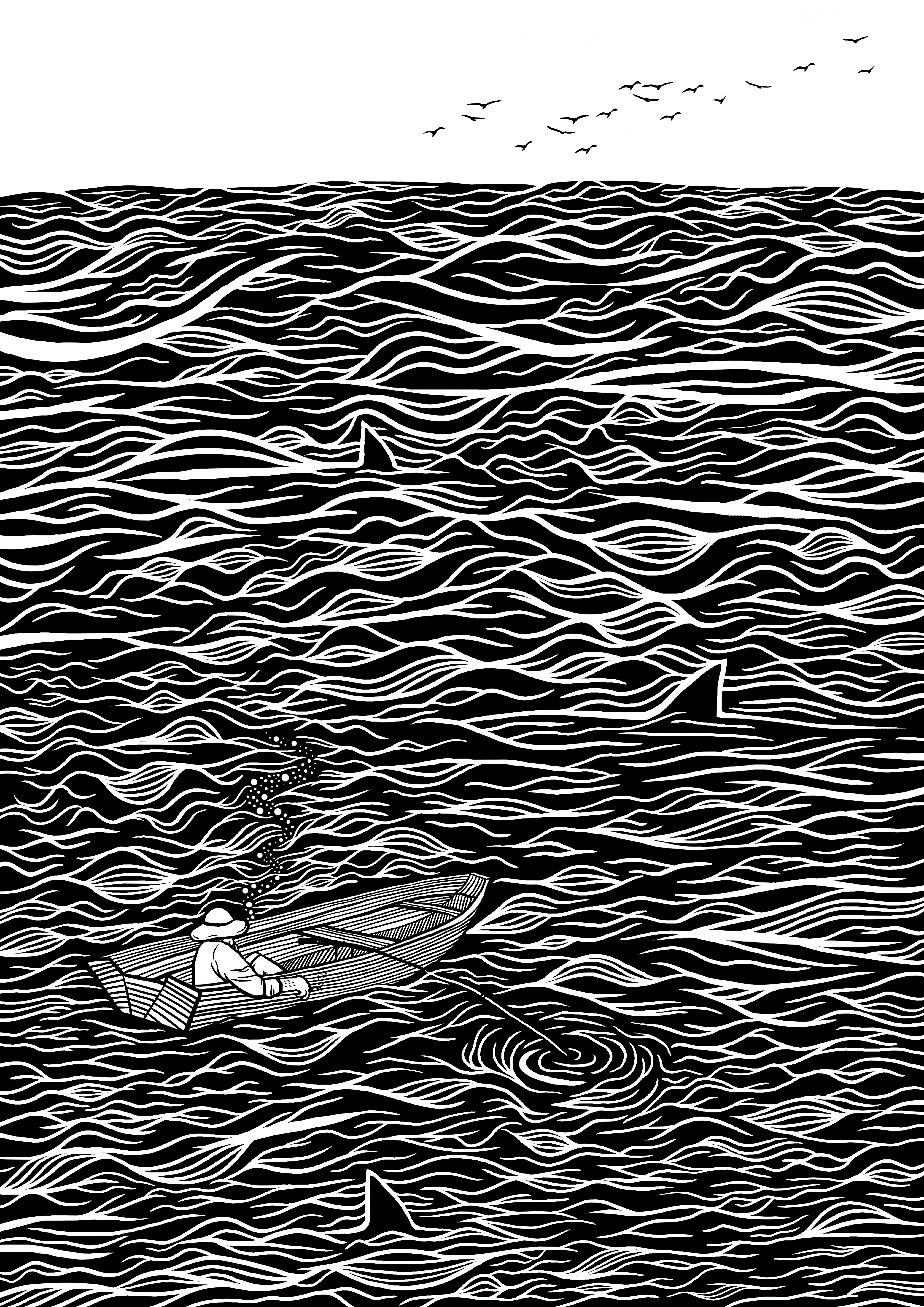 Moře širé a konec nevidět